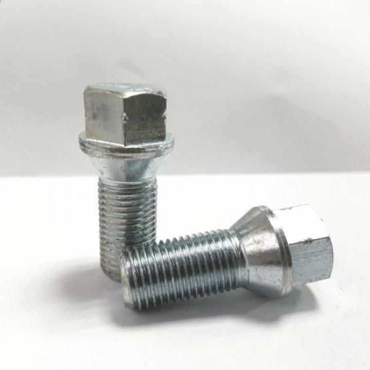 Болт М14x1,50 L=28 конус ключ 17мм. хром