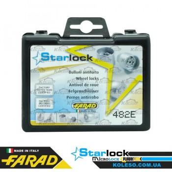 Farad StarLock 482/E-1CH гайка M12x1,5 плоское L=44мм.