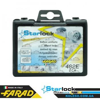 Farad StarLock 482/E-2CH гайка M12x1,5 плоское L=44мм.
