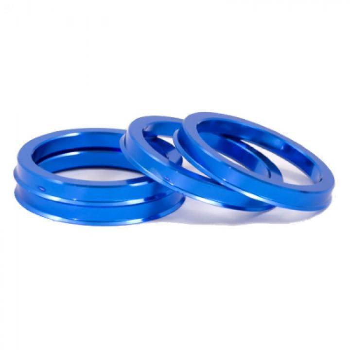 Центровочные кольца 72.6-65.1 алюминий