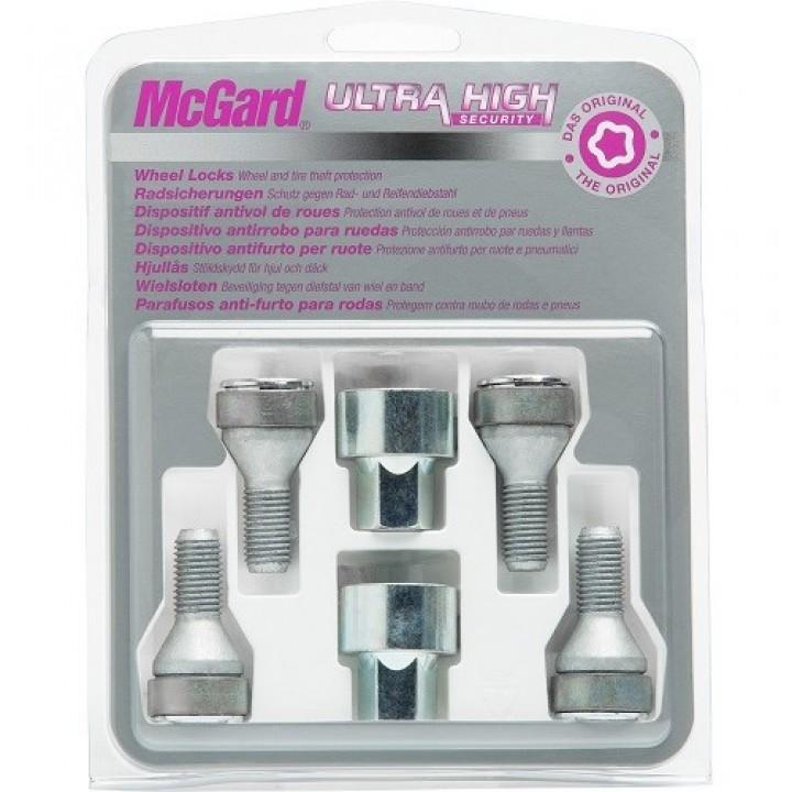 Секретки McGard 37279SL M12x1,5 конус 60° L=26,4мм. кл.17мм.