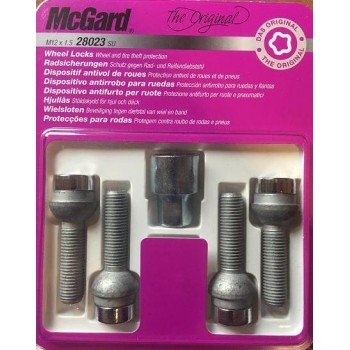 McGard 28023SU болт M12x1,5 сфера R12 L=39,9мм.
