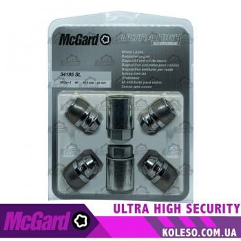 McGard 34195SL гайка M12x1,5 конус L=32,5мм.